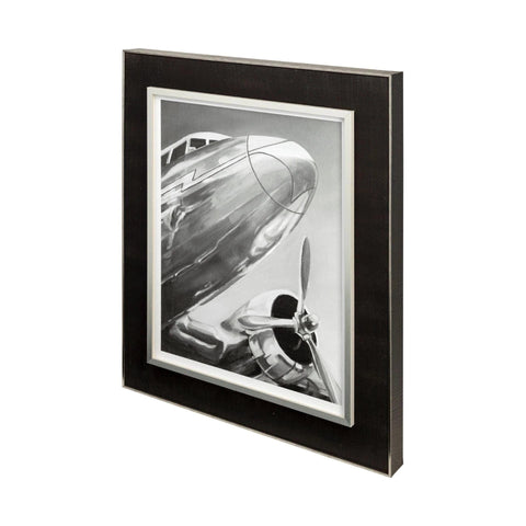 Aviation 2 Art Work metal black frame