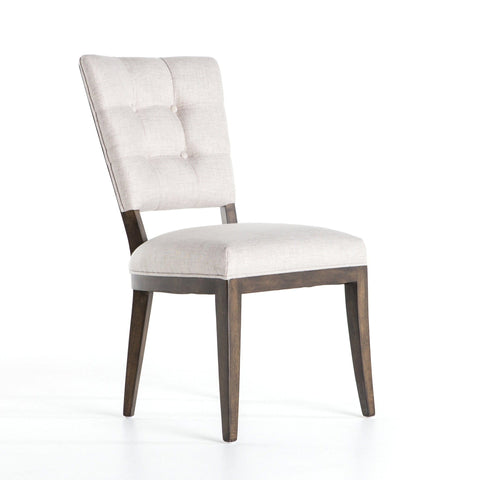 Cecily white upholstery Dining Chair