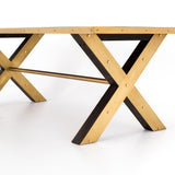 Bradley Dining Table close leg