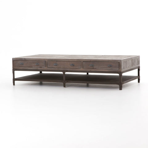 Irondale reclaimed Coffee Table large