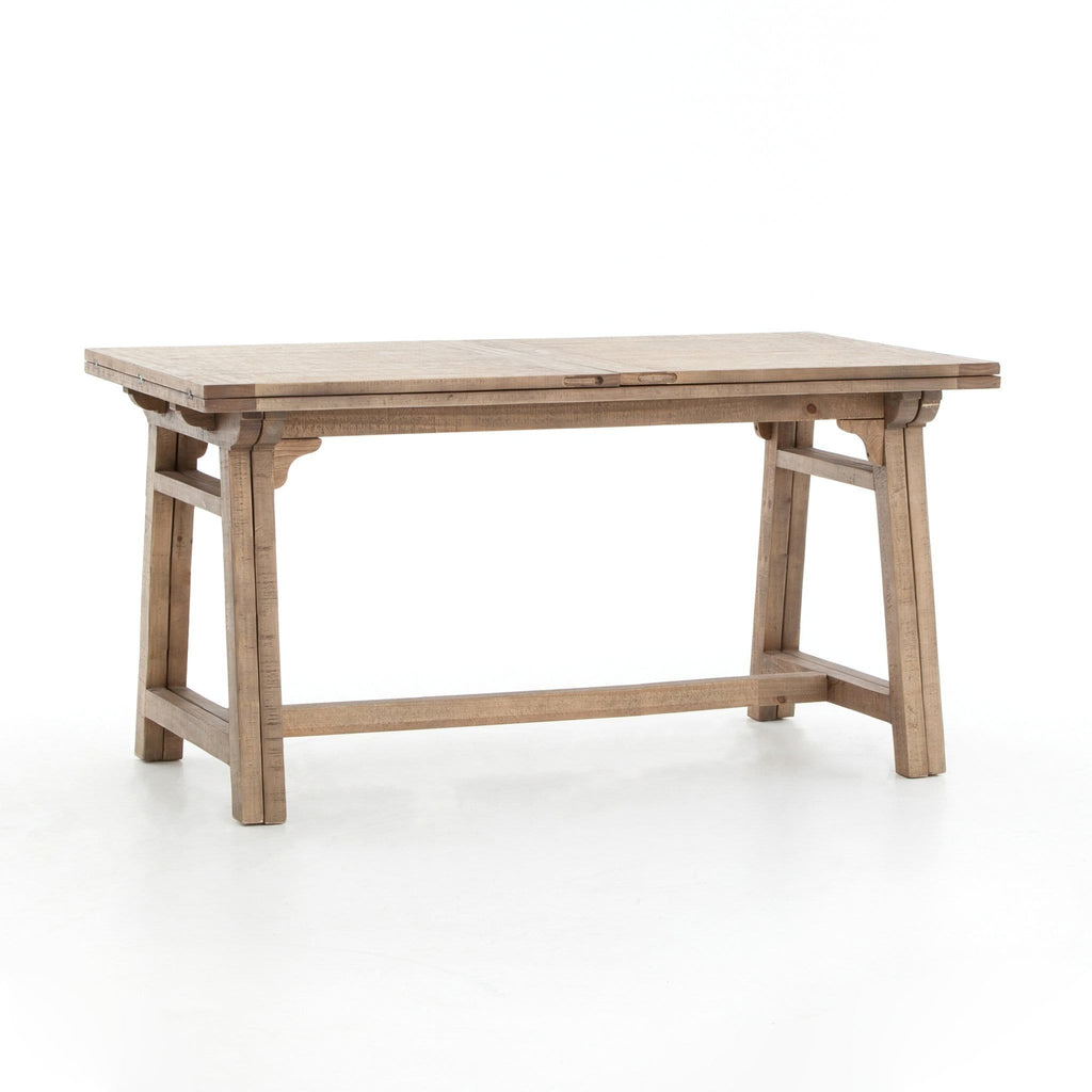 carter extension pub counter table reclaimed pine