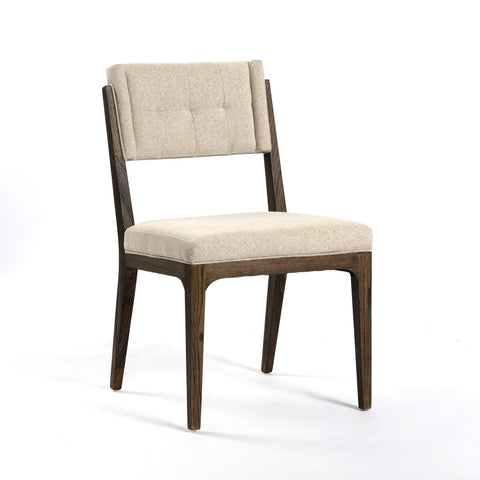 Bonita ivory dining chair modern