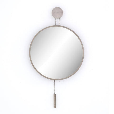 Ashton Round Mirror Frontview