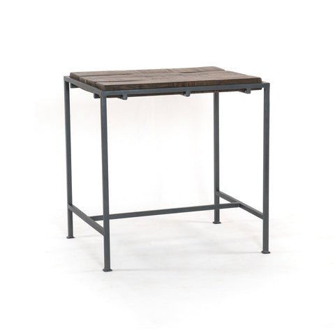 jensen side table iron mango wood