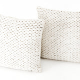 Ivory Braided Pillow Set