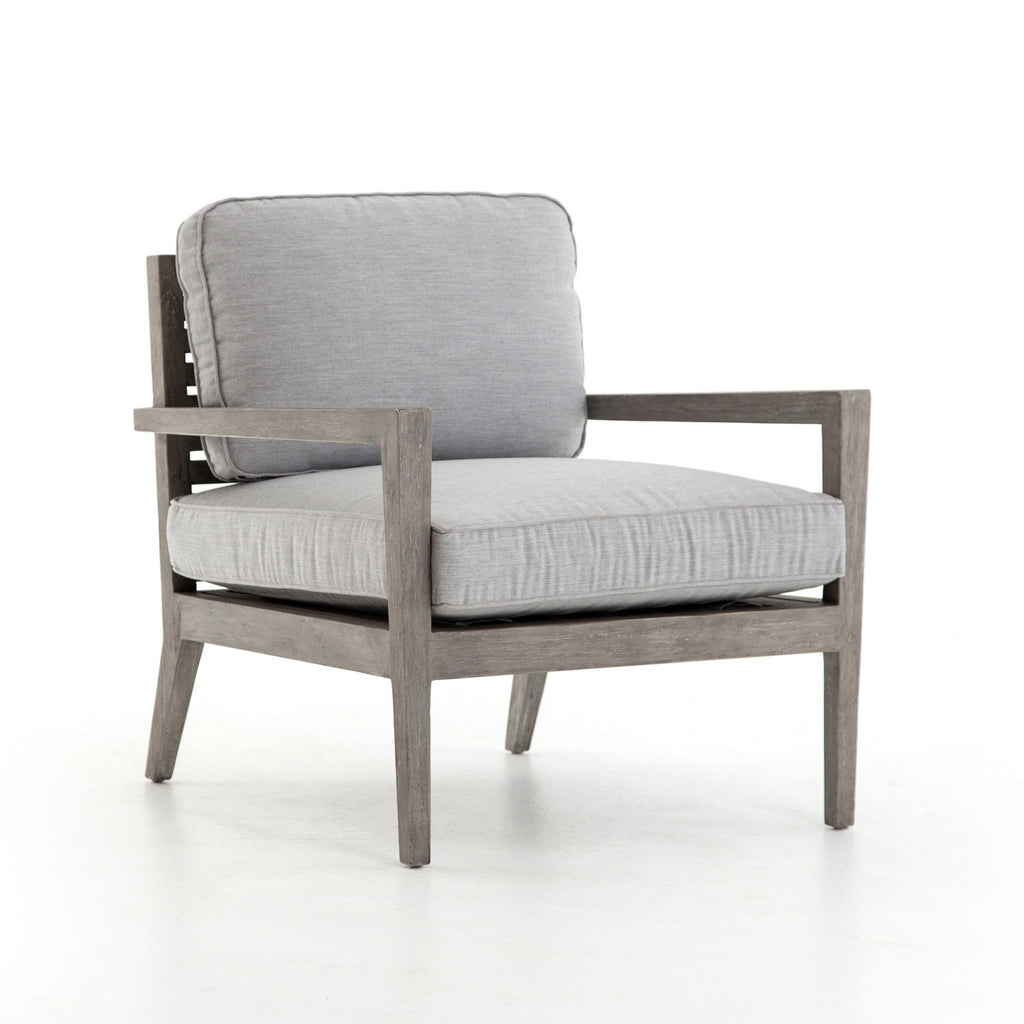 Saint Outdoor chair teak grey sunbrella