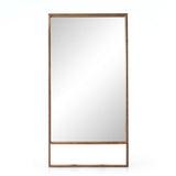Leon Floor Mirror Natural Walnut