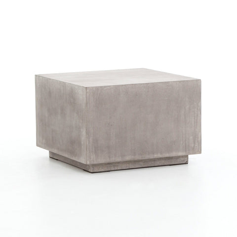 louis concrete outdoor coffee table grey