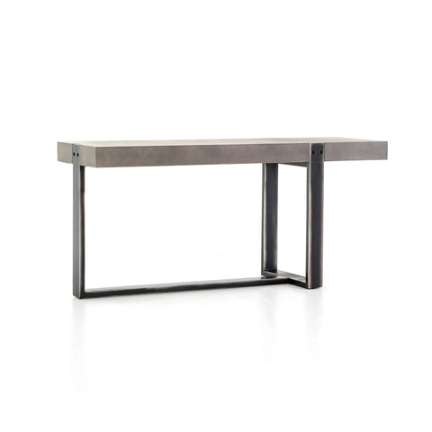 Harlow Console Table concrete iron
