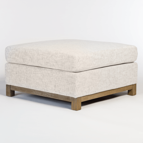 Cleary Ivory Ottoman