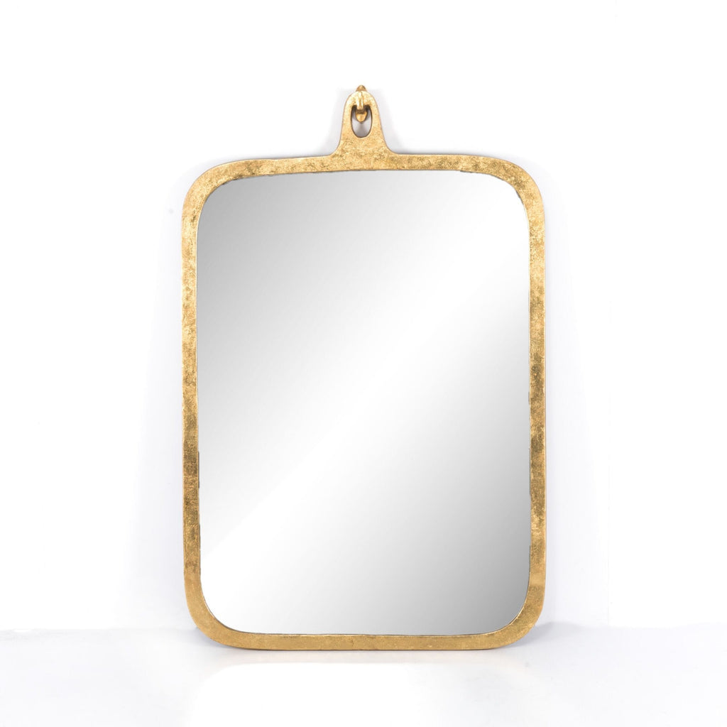 Gold Leaf Mirror Brown And Beam Furniture