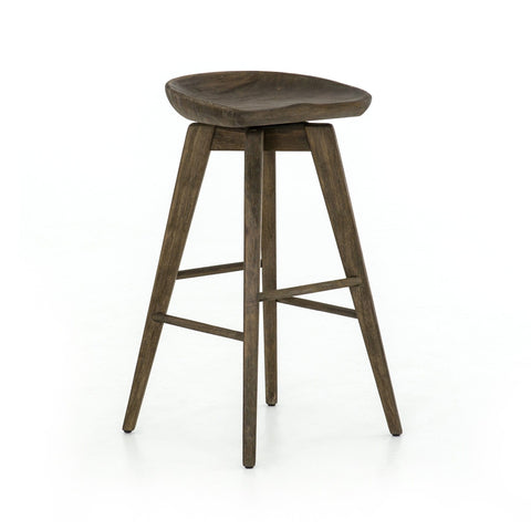 jaden stool wood swivel