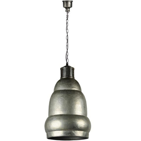Baron Bell Pendant made of aluminum comes in antique silver and grey