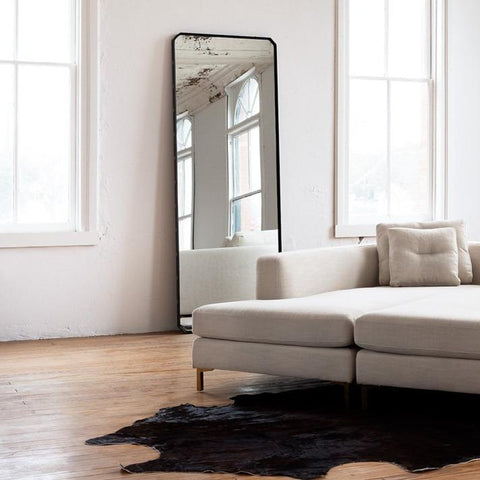 Bolted Floor Mirror