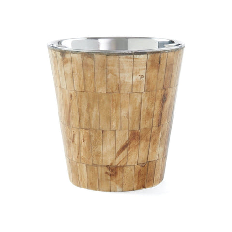 Bone Bucket Resin Stainless Steel interior