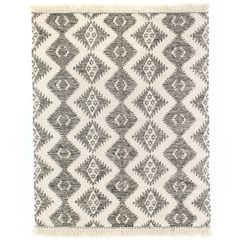 Bosworth Rug wool cotton aztec western pattern