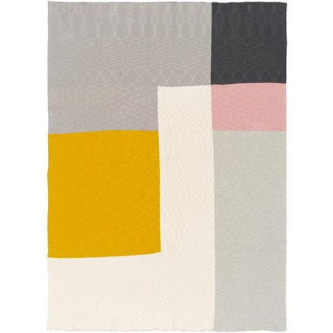 breck throw pink grey ivory black