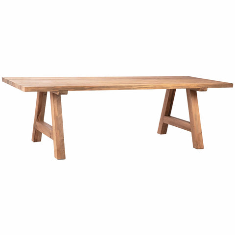 Brussels Dining Table teak outdoor