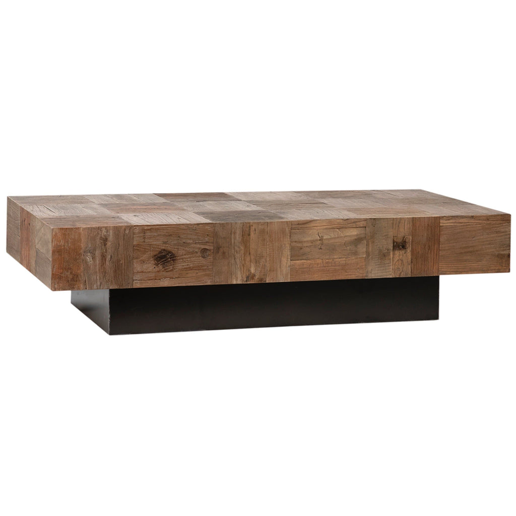 crawford coffee table reclaimed wood