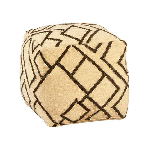 Andie Wool Pouf