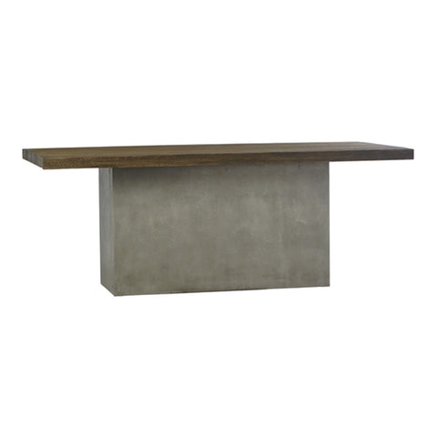 Quincy Concrete Dining Table 79""