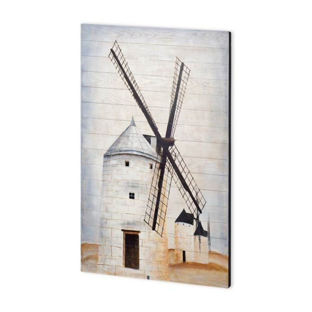 Windmill on Wood
