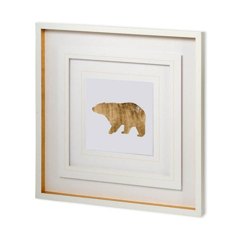 Gold Brushed Bear