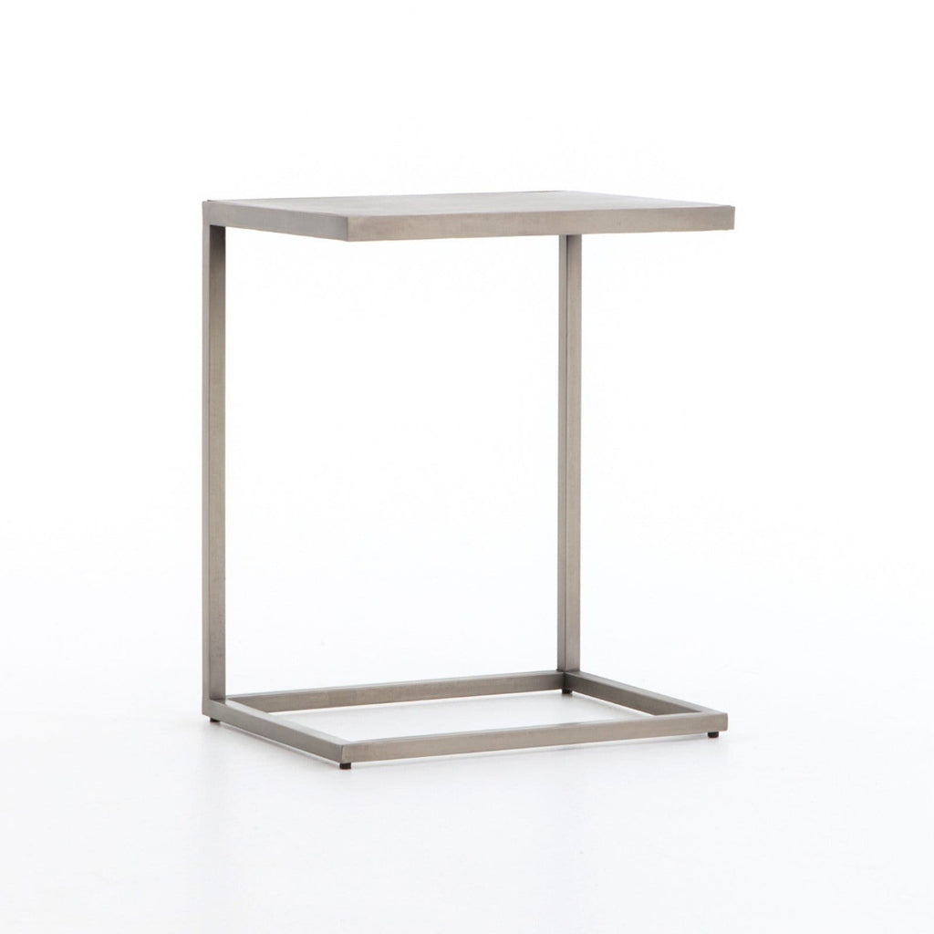 jayson end table silver