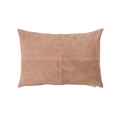 Salmon Suede Pillow
