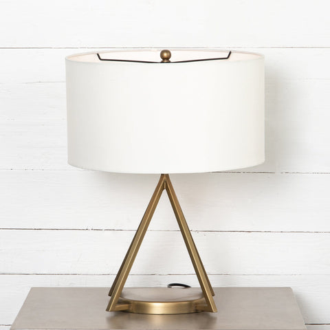 Declan Table Lamp brass