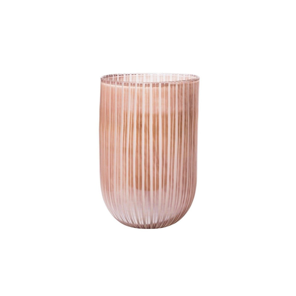 Essie Vase pink whimsical glass decor