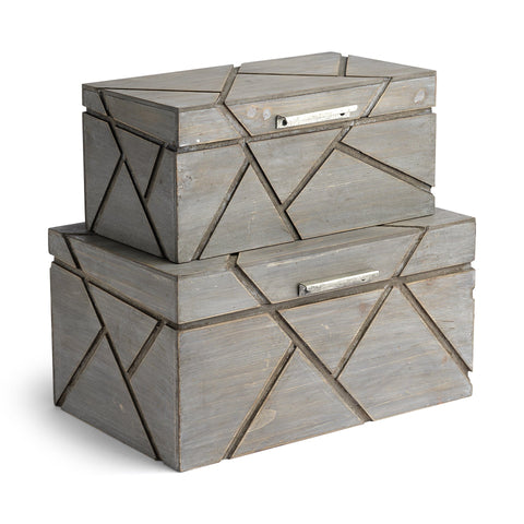 Fiore Boxes wood grey wash geo design main
