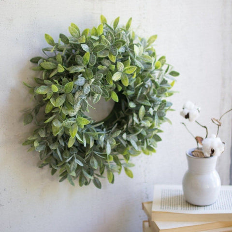 Garner Sage Wreath green botonical