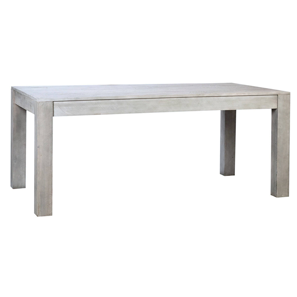 Herran Dining Table reclaimed washed grey 72""