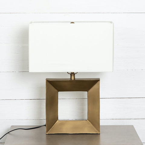 Huron Table Lamp brass