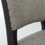 Leo grey dining chair