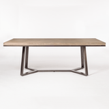 moca dining table side view