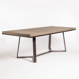 moca dining table angled view