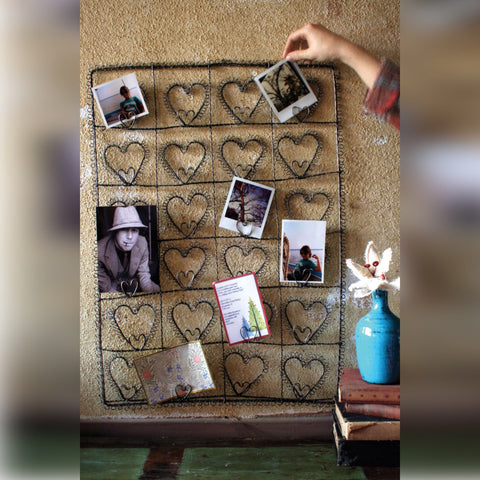 Photo Heart Display metal black