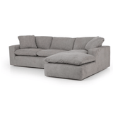 Stevens sectional grey