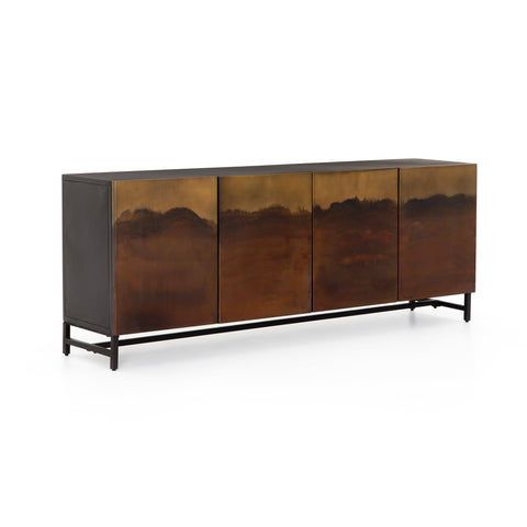Spieth Sideboard Iron Brown Cabinet
