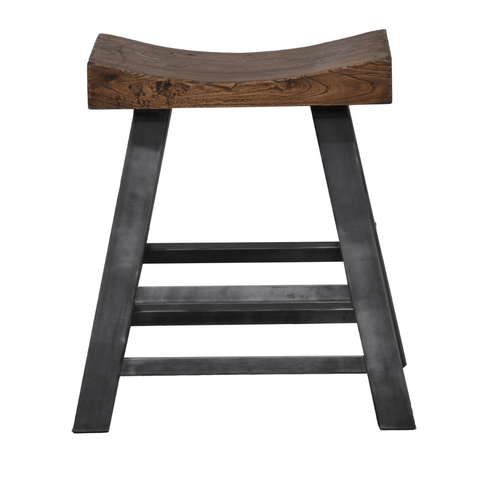 sumner counter stool reclaimed metal