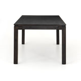 Tamsen Dining Table modern acacia dark wood 88""