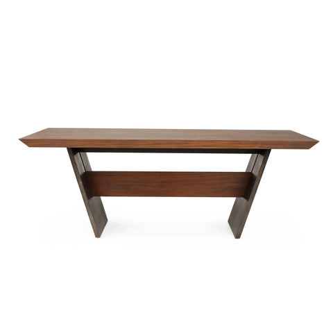 Vonda Dining Table Sideview 84""