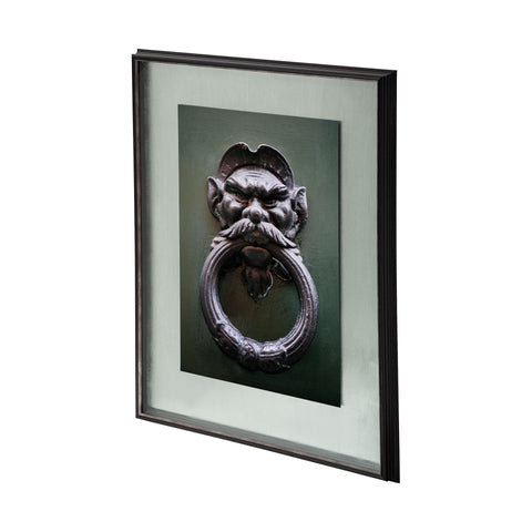 Warrior Wall Art metal black