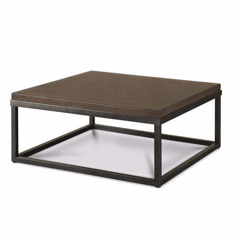 Bennett dark brown coffee table