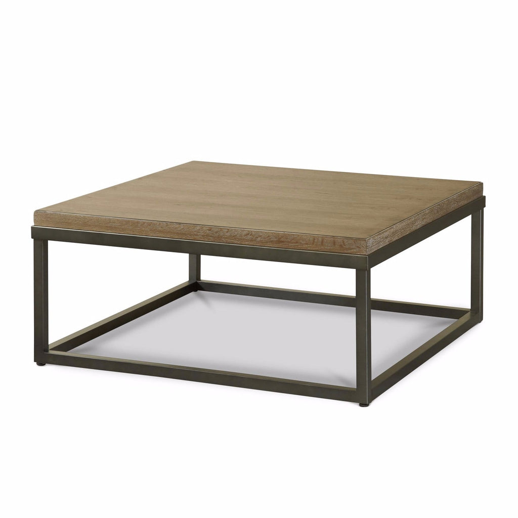 Bennett natural tan wood coffee table