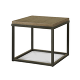 Bennett natural tan side table