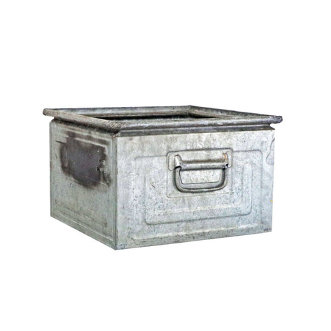 Galvanized Stacking Bin