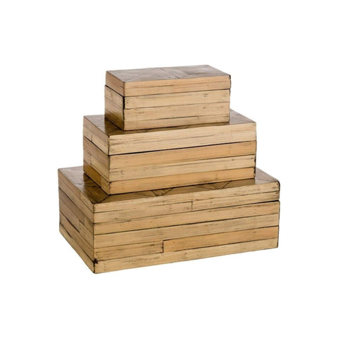 Bamboo Boxes front